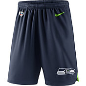 Nike Men's Seattle Seahawks Dry Knit Navy Performance Shorts