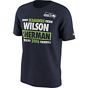 Nike Men's Seattle Seahawks Election Navy T-Shirt