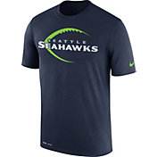 Nike Men's Seattle Seahawks Legend Icon Performance Navy T-Shirt
