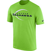 Nike Men's Seattle Seahawks Legend Football Icon Performance Green T-Shirt