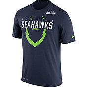 Nike Men's Seattle Seahawks Legend Icon Navy T-Shirt