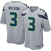 Nike Men's Alternate Game Jersey Seattle Seahawks Russell Wilson #3
