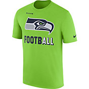 Nike Men's Seattle Seahawks Sideline 2017 Legend Football Performance Green T-Shirt