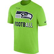 Nike Men's Seattle Seahawks Sideline 2017 Legend Football Performance Green T-Shirt