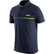 Nike Men's Seattle Seahawks Sideline 2016 Elite Navy Polo