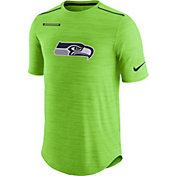 Nike Men's Seattle Seahawks Sideline 2017 Player Green Top