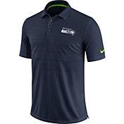 Nike Men's Seattle Seahawks Sideline 2017 Early Season Navy Polo