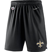 Nike Men's New Orleans Saints Dry Knit Black Performance Shorts