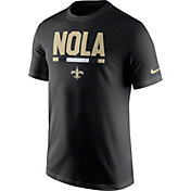 Nike Men's New Orleans Saints Local Verbiage Black T-Shirt