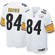 Nike Men's Away Game Jersey Pittsburgh Steelers Antonio Brown #84