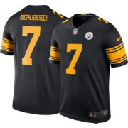 Nike Men's Color Rush 2016 Pittsburgh Steelers Ben Roethlisberger #7 Legend Game Jersey