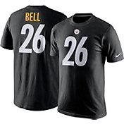 Nike Men's Pittsburgh Steelers Le'Veon Bell #26 Pride Black T-Shirt