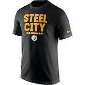 Nike Men's Pittsburgh Steelers Local Verbiage Black T-Shirt