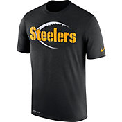 Nike Men's Pittsburgh Steelers Legend Icon Performance Black T-Shirt