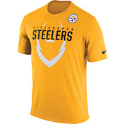 Nike Men's Pittsburgh Steelers Legend Icon Gold T-Shirt