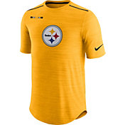 Nike Men's Pittsburgh Steelers Sideline 2017 Player Gold Top