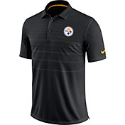 Nike Men's Pittsburgh Steelers Sideline 2017 Early Season Black Polo