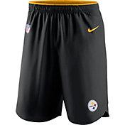 Nike Men's Pittsburgh Steelers Sideline 2017 Vapor Black Shorts