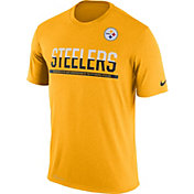Nike Men's Pittsburgh Steelers Practice Gold T-Shirt