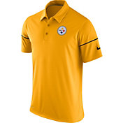 Nike Men's Pittsburgh Steelers Team Issue Gold Polo