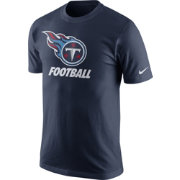 Nike Men's Tennessee Titans Facility Navy T-Shirt
