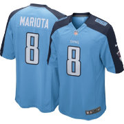 Nike Men's Home Game Jersey Tennessee Titans Marcus Mariota #8