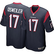 Nike Men's Home Game Jersey Houston Texans Brock Osweiler #17