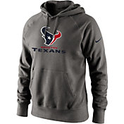 Nike Men's Houston Texans Lockup Circuit Grey Hoodie