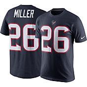 Nike Men's Houston Texans Lamar Miller #26 Pride Navy T-Shirt