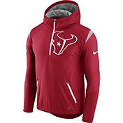 Nike Men's Houston Texans Sideline 2017 Fly Rush Red Lightweight Jacket