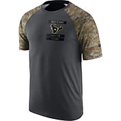 Nike Men's Houston Texans Salute to Service 2016 Anthracite Performance T-Shirt