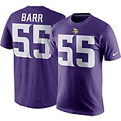 Nike Men's Minnesota Vikings Anthony Barr #55 Pride Purple T-Shirt