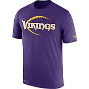 Nike Men's Minnesota Vikings Legend Icon Performance Purple T-Shirt