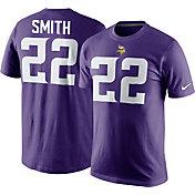 Nike Men's Minnesota Vikings Harrison Smith #22 Pride Purple T-Shirt