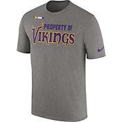 Nike Men's Minnesota Vikings Property Of Grey T-Shirt