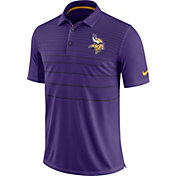 Nike Men's Minnesota Vikings Sideline 2017 Early Season Purple Polo