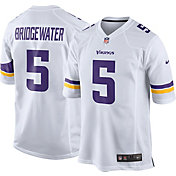 Nike Men's Away Game Jersey Minnesota Vikings Teddy Bridgewater #5