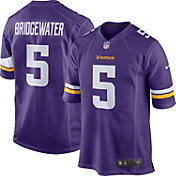 Nike Men's Home Game Jersey Minnesota Vikings Teddy Bridgewater