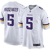 Nike Men's Away Game Jersey Minnesota Vikings Teddy Bridgewater #5