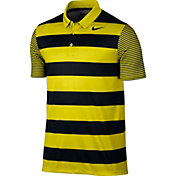 Nike Men's Breathe Bold Stripe Golf Polo