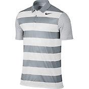 Nike Men's Breathe Bold Stripe Golf Polo
