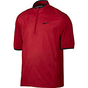 Nike Men's Shield Half-Zip Short Sleeve Golf Jacket