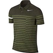 Nike Men's Modern Fit Transition Dry Stripe Golf Polo