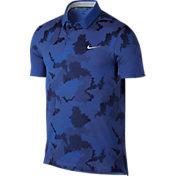 Nike Men's Modern Fit Transition Dry Print Golf Polo