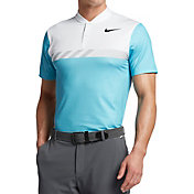 Nike Men's MM Fly Framing Block Golf Polo