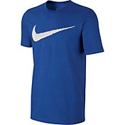 Nike Men's Hangtag Swoosh Graphic T-Shirt