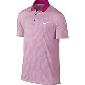 Nike Men's Dri-FIT Victory Mini Stripe Golf Polo