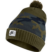 Nike Men's Camo Pom Knit Hat