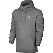 Nike Men's Sportswear Club Fleece Half Zip Hoodie