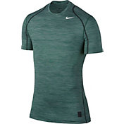Nike Men's Pro Cool Heathered Fitted T-Shirt